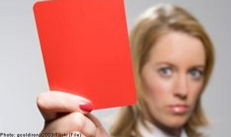 Red cards let school 'send off' troublemakers
