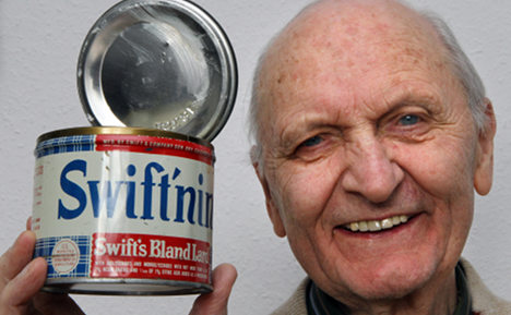 Tub of lard found fit to eat after 64 years