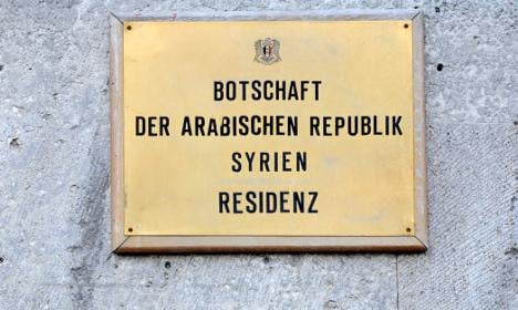 Germany expels four Syrian diplomats