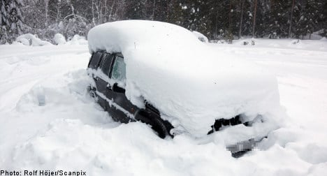 Swede saved after months in snowed-in car