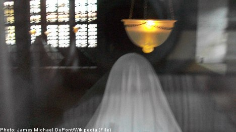 One in five Swedes 'believes in ghosts'
