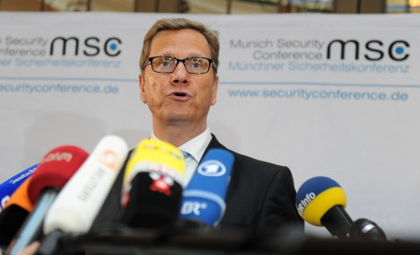 Westerwelle hammers China, Russia over veto