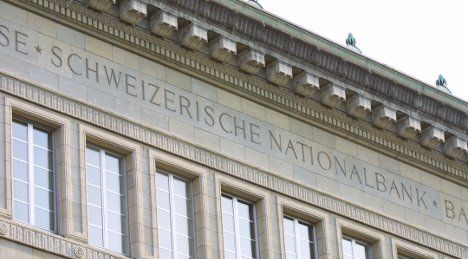 Swiss central bank stays firm on currency cap