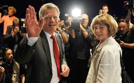 Can Gauck be president 'while living in sin?'
