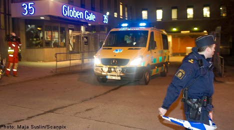 20 injured in Stockholm Globe stage collapse