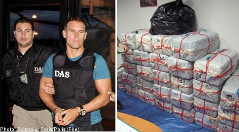 Eight charged in 'biggest ever' Swedish drug bust