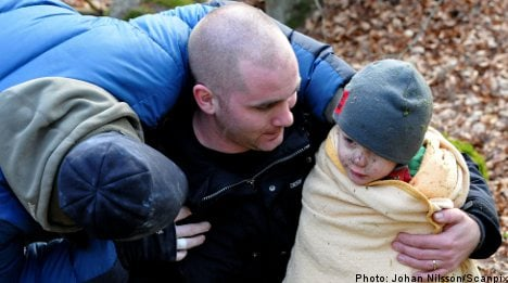 Leo, 3, rescued after five hours in rock crevice