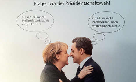 No welcome mat for Hollande from Merkel