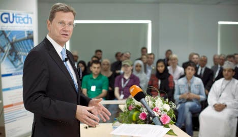 Westerwelle calls for stop to Iran smuggling