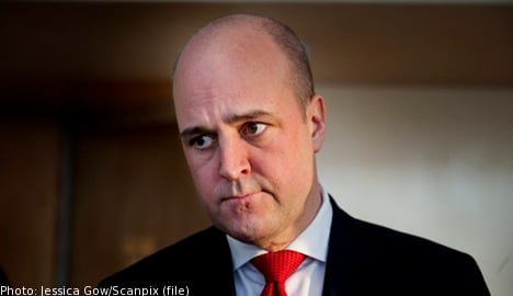 Reinfeldt approved Saudi arms factory: report