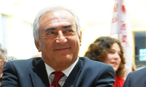 Strauss-Kahn charged in vice ring probe