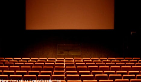 Swedish cinema charges baby for viewing film