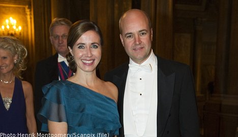 Prime minister Reinfeldt separates from wife