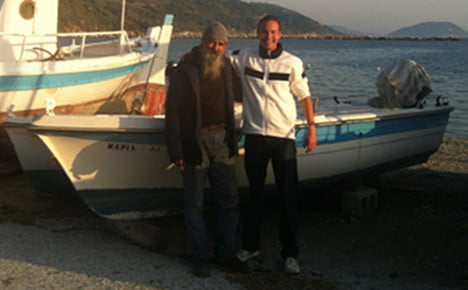 The German who 'bought a Greek island'