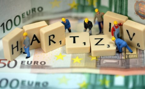 Spaniards, Greeks, cut off from German benefits