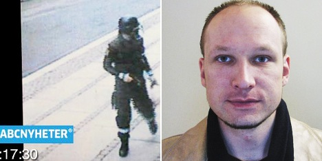 Breivik charged with 'acts of terror'