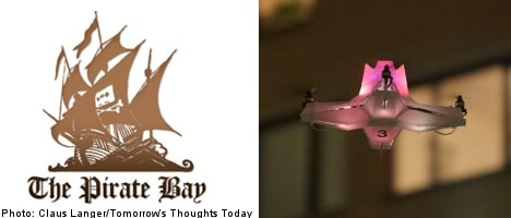 Pirate Bay to launch fleet of 'aerial server drones'