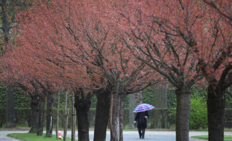 April showers set to stay despite warm weather
