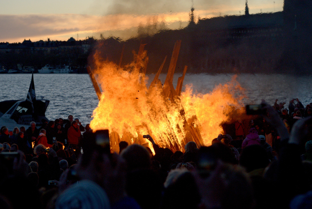 Walpurgis Night: Why are Swedes dancing around bonfires?