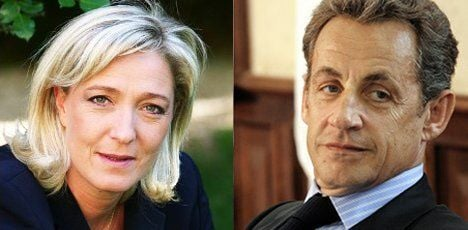 Le Pen taunts Sarkozy for wooing her voters