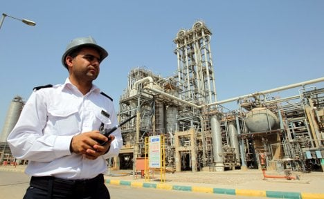 Iran cuts oil exports to Germany
