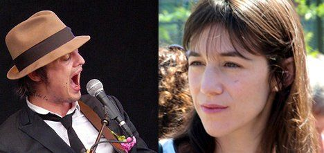 Doherty: I had affair with Charlotte Gainsbourg
