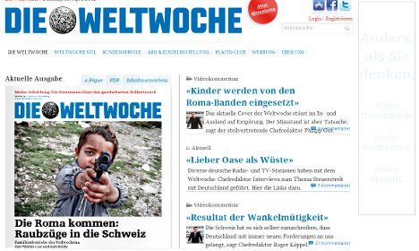 Swiss mag in racism row over Roma child shooter