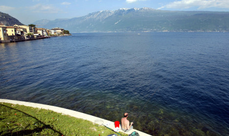 Fears for three missing Germans on Lake Garda