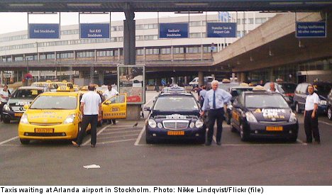 Stockholm tourists stung in taxi-fare battle