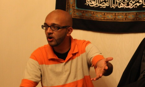 US comedian tells tales from the Mosque