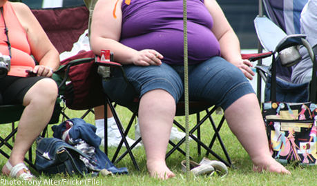 Chunky Swedes chase US 'knee-busting' obesity