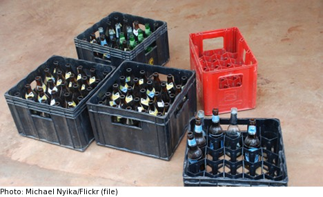 Drunk man charged with hijacking brewery truck