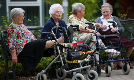 Elderly Germans 'cause more trouble than Turks'