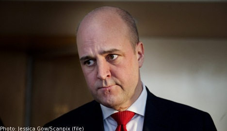 Reinfeldt slams proposal to lower youth wages