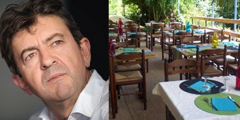 French restaurant pegs meal price to election result