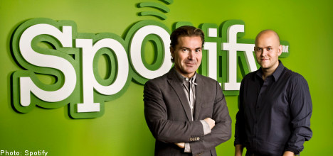 Coca-cola joins forces with Swedish Spotify
