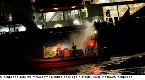 Greenpeace prompts new delay of Shell icebreaker