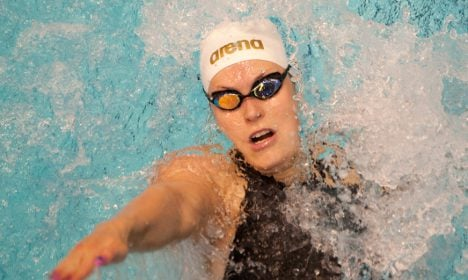 Swimmer sinks own German record