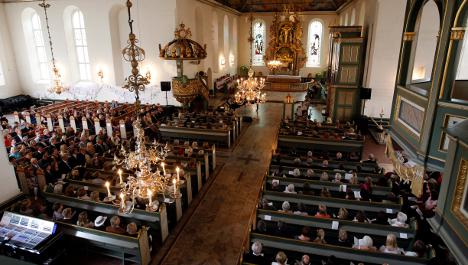 Norway separates church and state