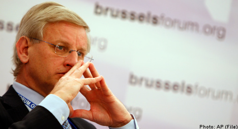 'Bildt bugged in Russia opposition meet-up'
