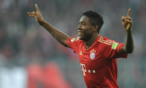 Bayern's Alaba brushes off English insult