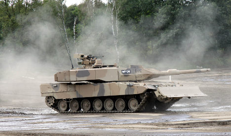 Germany in €10-billion tank deal with Saudis