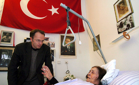Report: Turks with dementia forget German