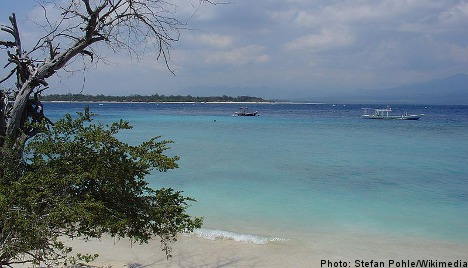 Young Swede dies on paradise island