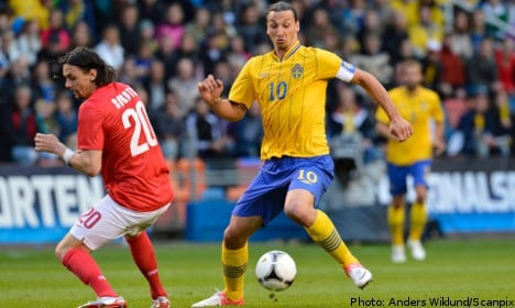 Swedes see off Serbs in Euros warm up
