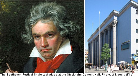 Stockholm's Beethoven fest closes with a bang