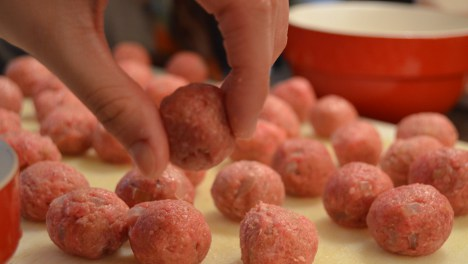 Swedish meatballs made easy in Stockholm