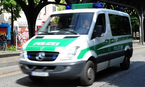 Berlin baby born on back seat of police car