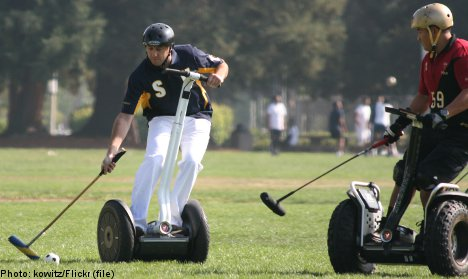 Segway Polo World Cup comes to Stockholm