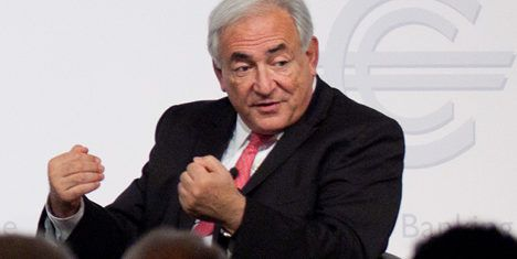 DSK and Sinclair 'split a month ago': source